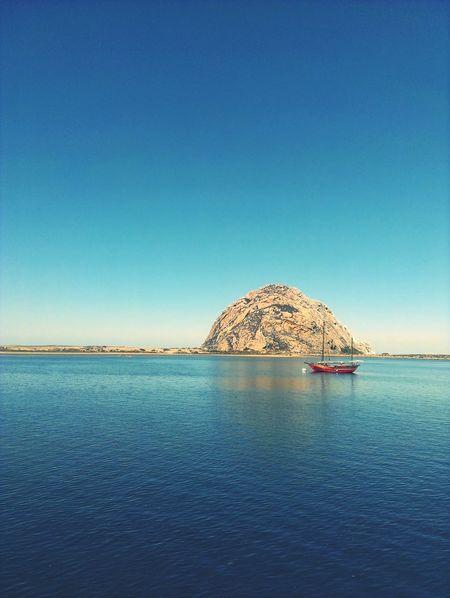 Boat Ocean Sea Blue