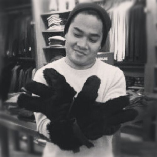 Found my winter gloves. Bearmode Fur