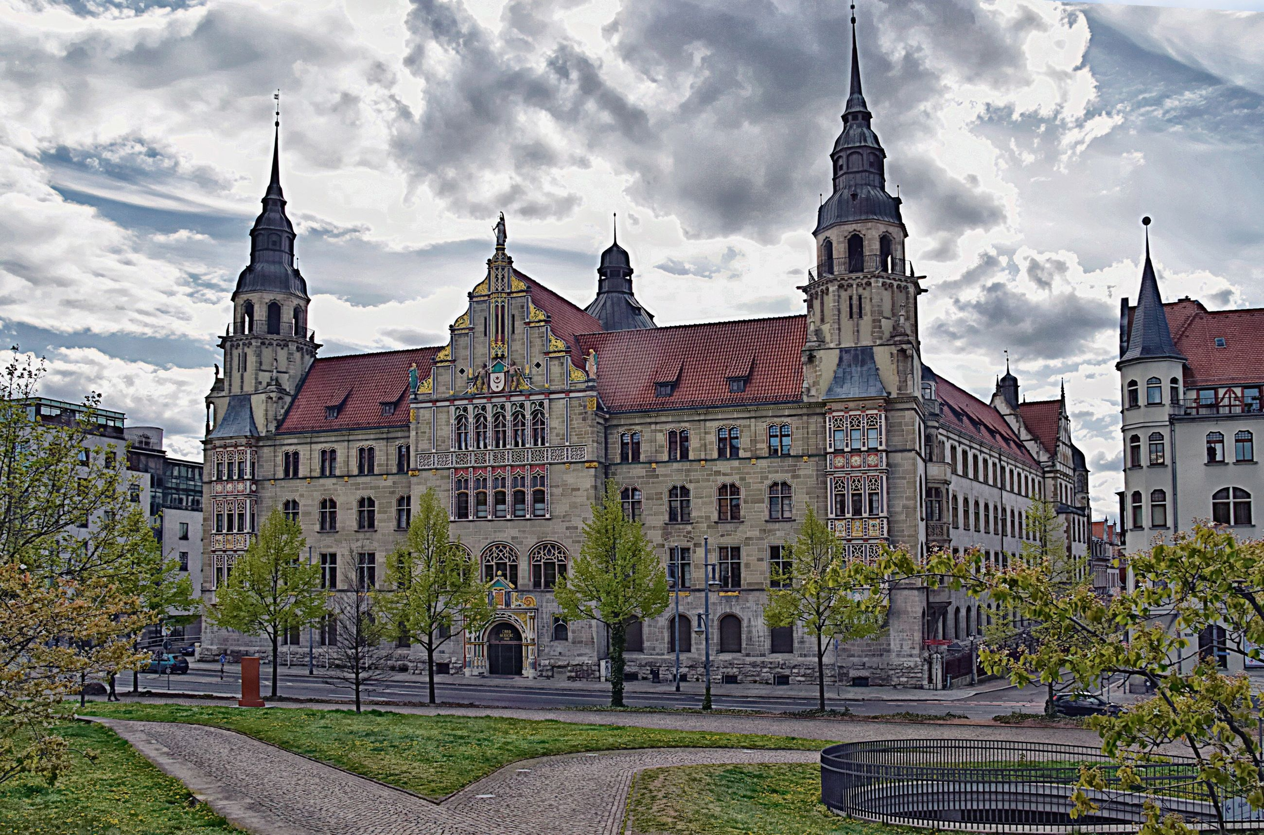 building exterior, built structure, architecture, building, sky, cloud - sky, history, the past, travel destinations, nature, tower, religion, place of worship, day, no people, travel, tourism, spire, low angle view, outdoors