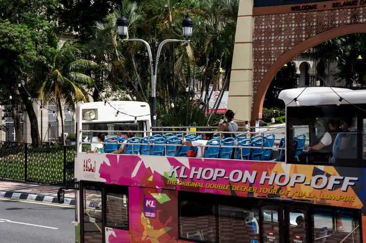 Hop on hop off bus to sightseing around KL city Holiday Bus Day Doubledeckerbus Hop On Hop Off Outdoors Text Tourism Travel Destinations