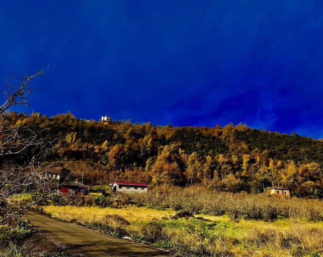 Trabzon Kaşüstü Harika Manzara Pazargunu Gokyuzu ile Doğanın Ahengi