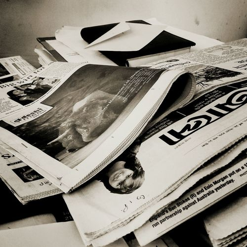 Paper Currency Indoors  Paper No People Newspaper Business The Photojournalist - 2017 EyeEm Awards Eyemphotography Xiaomiphotography Bangladesh 🇧🇩 Office Table Black And White Photography Blackandwhite Photography Leisure Activity Blak And White Mobilephotography EyeEmNewHere