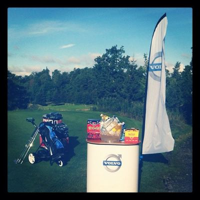 Golf Swedbank Volvoshowroom Volvocars sun candy