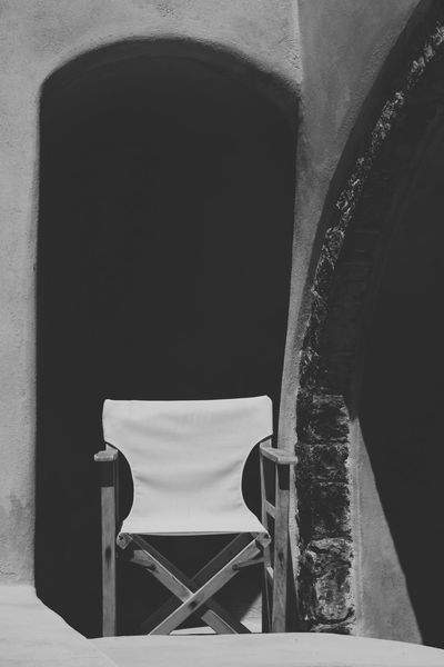Abandoned Absence And Action! Black & White Black And White Black And White Photography Blackandwhite Blackandwhite Photography Chair Full Frame Relaxation Santorini Shadow Single Object Sunny Day Vacation Wall The Essence Of Summer Monochrome Photography Black And White Friday