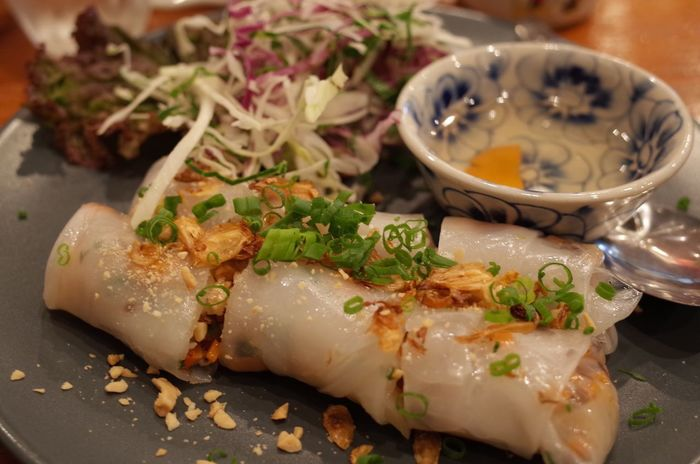 Steamed summer rolls! Vietnamese food♡ Summer Roll Vietnamese Food Close-up Focus On Foreground Food Freshness Healthy Eating No People Ready-to-eat Serving Size Steamed Summer Roll Yufoto