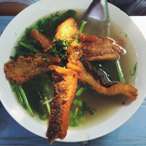 Bánh đa cá rô