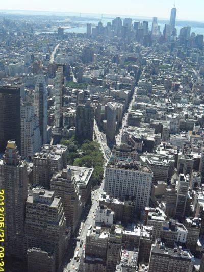 Манхеттен сверху. Мой взгляд на Нью-Йорк.