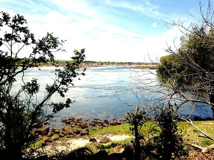 Zambia Lake Countryside Nature Livingstone  Naturelovers Lovingit Eye4photography  Relaxing Enjoying Life