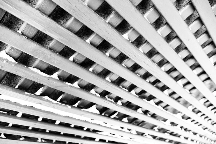 Full Frame Pattern Backgrounds Building Exterior Architecture Built Structure No People Close-up Day Blackandwhite Black And White Patterns