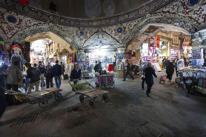 Grand Bazaar, Tehran City, 2016 | ©Ahmad Aghasiani Uspiran