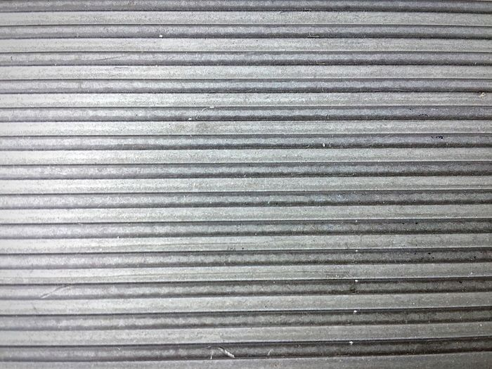 Backgrounds Pattern, Texture, Shape And Form Pattern Textures And Surfaces Texture Textured  Surface Metal Ridges IPhoneography IPhone Mobile Photography Iphoneonly Minimalist Minimal Minimalism Silver  Aluminium