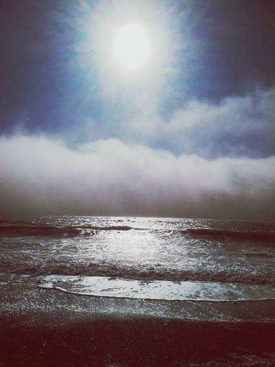 Waves In The Sky Clouds Rialtobeach