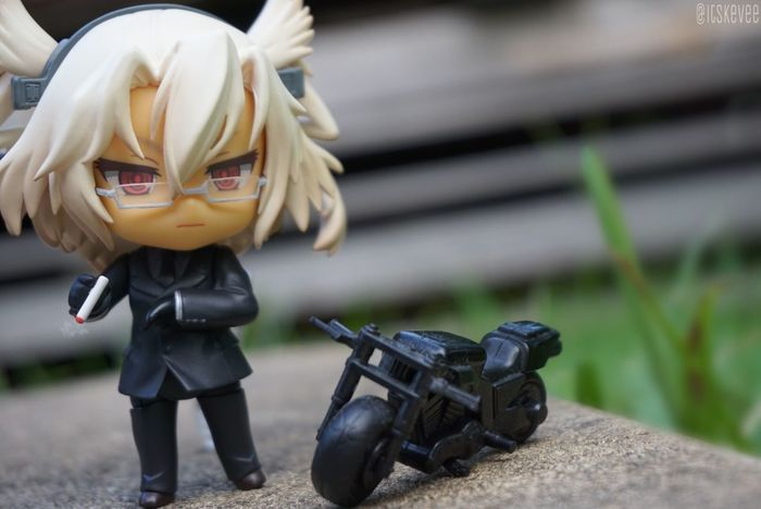 Black Cigarette  Collection Focus On Foreground Glasses Kancolle Kantai Collection Man Made Object Model - Object Motorcycle MUSASHI Suit