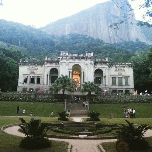 Parquelage Riodejaneiro Rio Brasil Brazil City Parque  Museu Museum Mansion