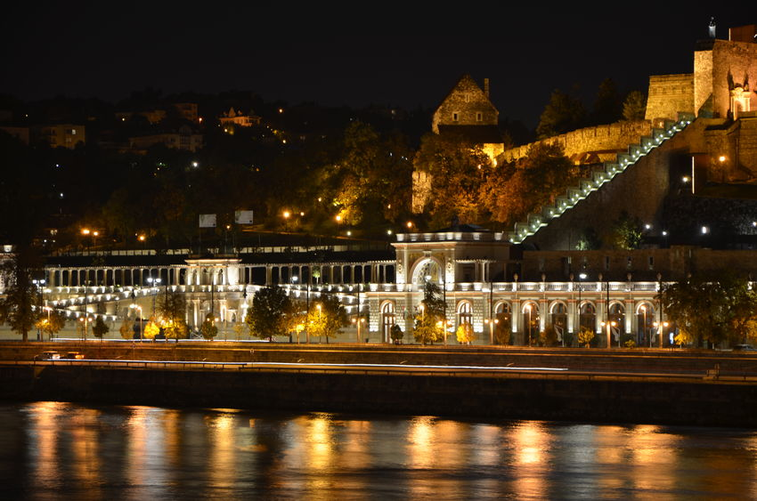 Architecture Budapest Castle Built Structure Capital Cities  Cityscape Danube Danube River Famous Place History Illuminated Night Tourism Várkert Hungary Cityscapes
