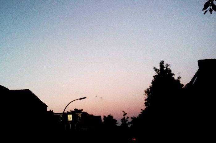 Sunset Skyporn Summer2016 July 2016 Hamburg