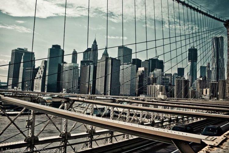 Brooklyn Bridge / New York New York City Streetphotography Canon Skyscraper