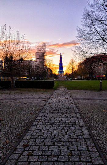 Berlin Photography Sky Sunset Ewige Flamme