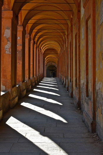 Arcade Arcades Architecture Blades Column Historic In A Row Old Old Buildings Perspective Shadow Shadows Sun Blades