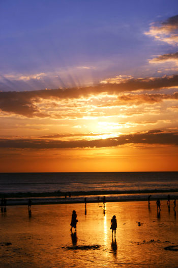 Sunset at Kuta Beach Wonderful Indonesia Bali, Indonesia The Week On EyeEm