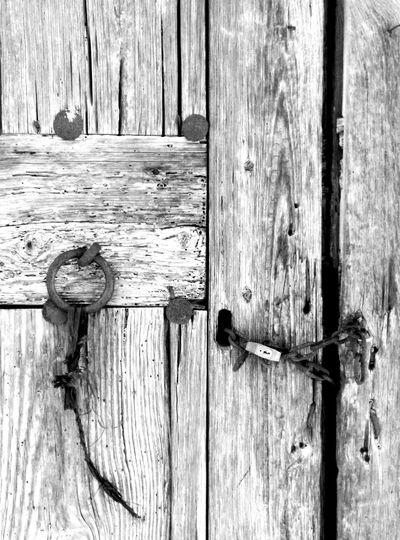 Sealed doors ... Sealed love Emptiness Brokenhearted Love ♥ Disillusion Sorrowful Doorsworldwide Padlocks Chains Oldie  Eye Em Best Shots -Black +White Black&white Black & White Black And White Photography Learn & Shoot: Simplicity Rustographer Rustography