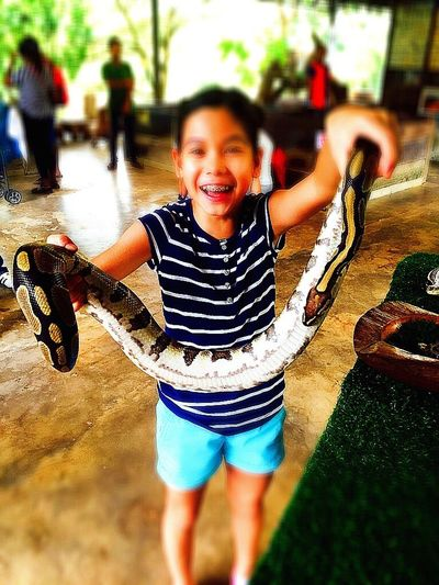 Python Snake Brave Children Photography Girl Fun First Time Experience Animal Photography Animalandhuman Courage👍 Cool IPhoneography Child Photography Eye4photography  Childhood Memories EyeEm Best Shots EyeEm Gallery EyeEm Best Edits The Girl With The Snake