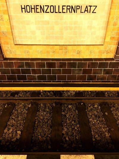 Berlin Berliner Ansichten Hohenzollernplatz Berlin Subway U-Bahn Berlin Urban Geometry