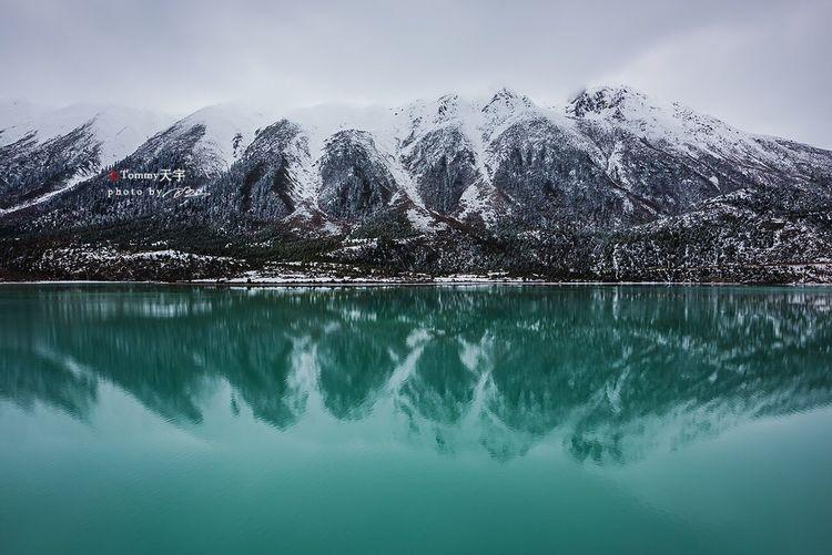 Ranwu Lake China Landscape Lake Tibet Snow Mountain