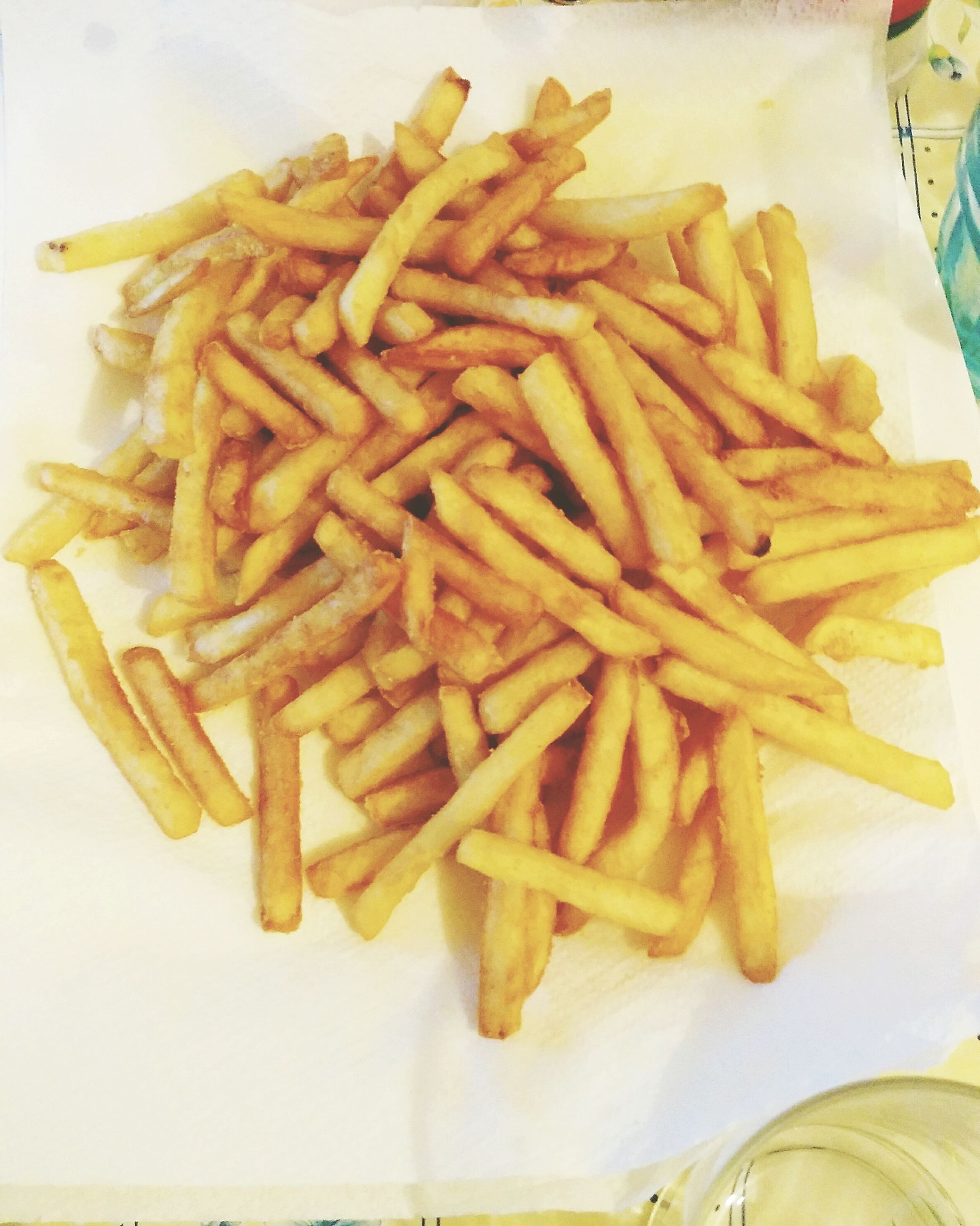 food, food and drink, freshness, indoors, ready-to-eat, still life, french fries, close-up, unhealthy eating, plate, high angle view, fast food, indulgence, fried, meal, table, prepared potato, deep fried, snack