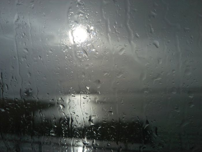 Backgrounds Close-up Day Drop Full Frame Glass Glass - Material Indoors  Mode Of Transportation Nature No People Purity Rain RainDrop Rainy Season Transparent Water Wet Window