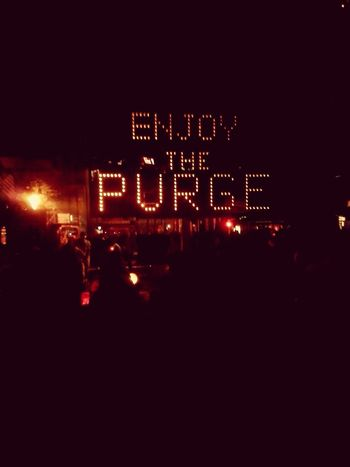 I survived the PURGE Hhn24