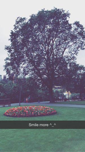 Smile more ^_^ Edinburgh