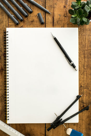 Blank Paper At