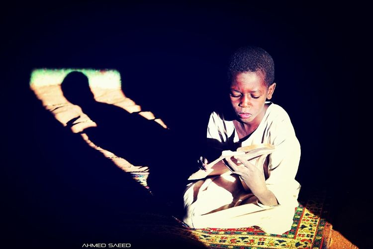 Another portrait from On dawn ban village-Sudan Portrait Holy Quraan Blessed Friday ♡♡♡ `