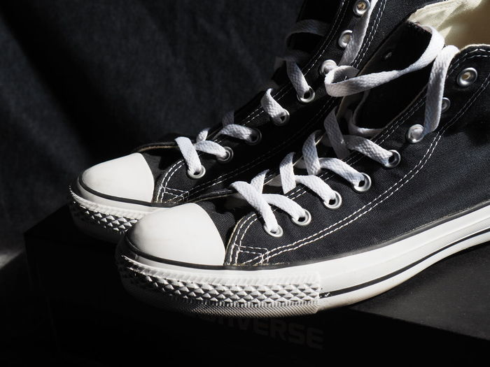Close-up of shoes