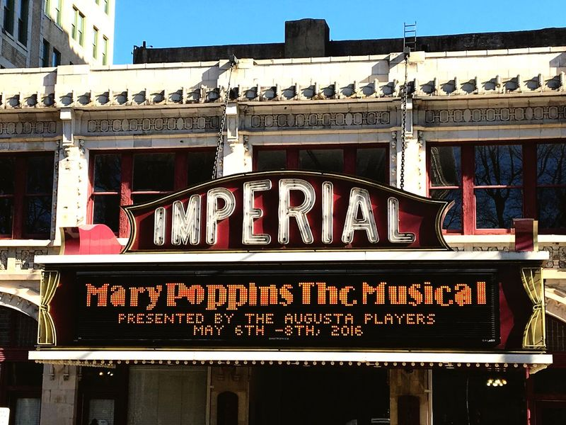 The Imperial Theatre in Augusta,Ga Enjoying Life Taking Photos Oudoors Theater AugustaGeorgia