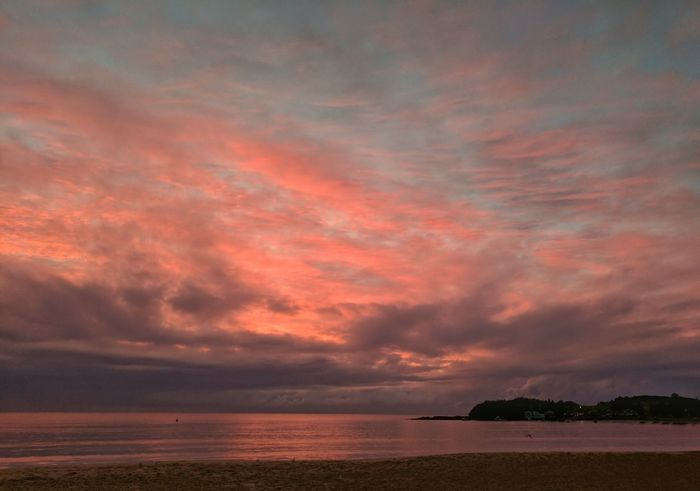 Mother's Day weekend, when the world wears pink the sky does too. Dramatic Sky Landscape Scenics Sunrise_sunsets_aroundworld Sea Tranquil Scene Australia Cloud - Sky Beauty In Nature No People