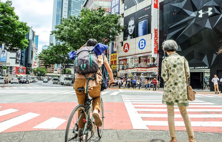 City life City Bicycle City Street Real People Men Crossing Crosswalk Tokyo,Japan Tokyo Street Photography Cyclist Walking Street City Life Transportation Mode Of Transport Protestor Women Architecture Road Land Vehicle Built Structure Shibuya Shibuyascapes Shibuyacrossing Shibuya Crossing