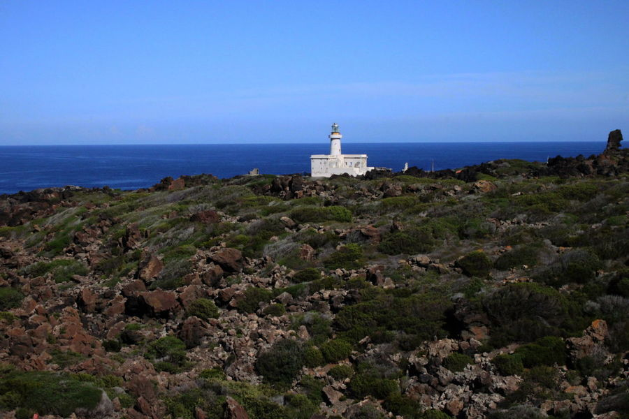Pantelleria Beauty In Nature Clear Sky Day Horizon Horizon Over Water Lighthouse Nature No People October 2015 Outdoors Scenics Sea Sky Water