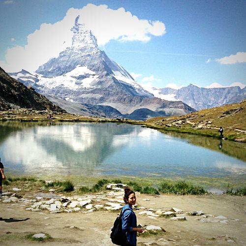 Matterhorn Matterhorn  Suisse  Zermatt Swiss Alps マッターホルン 4478m チェルマット スイス 念願 DOPE