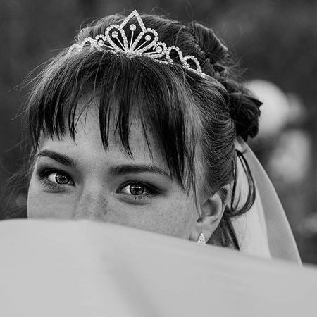 Невеста-лисичка свадьбанакамчатке Wedding Чб камчатка Kamchatka Yanka_partisanka веснушки