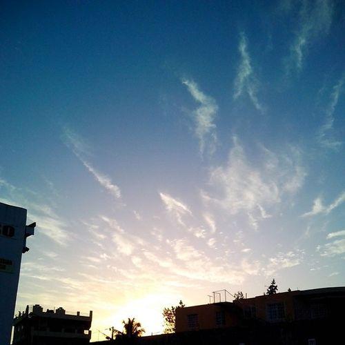 Techos Sky Sun Clouds Morning