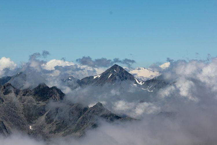 At the peak Sky