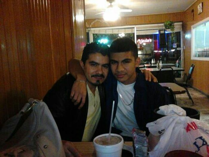 "Here We Pops :) Had A Good Time At ""El Camaron"""