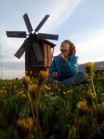 Environmental Conservation Wind Power Wind Turbine Windmill Sky