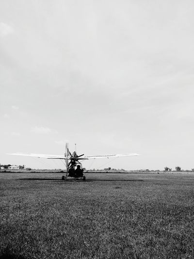Take Off Plane Flying Monochrome Photography
