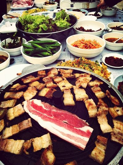 Roof Top Korean Bbq Party