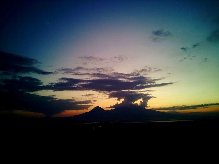 Armenian Mountains Sunset
