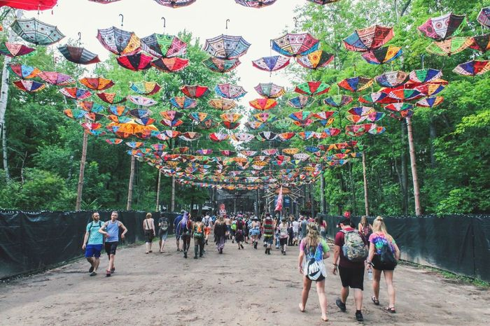 Electric Forest Rothbury Sherwood Forest Double JJ Ranch Outdoors Large Group Of People Festival Festival Season Edm