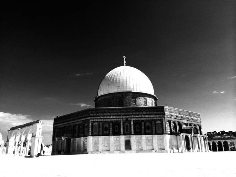 Jerusalem The Dome Of The Rock